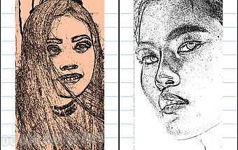 Pencil sketch photo editor