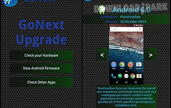 Upgrade for android™ go next