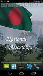 3d bangladesh flag lwp