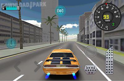 classic car simulation 3d