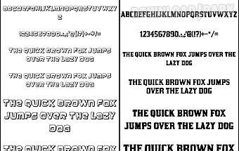 Fonts for flipfont 50 10
