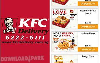 Kfc delivery - singapore