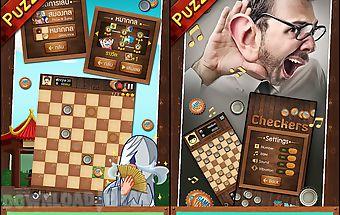 Thai checkers - genius puzzle