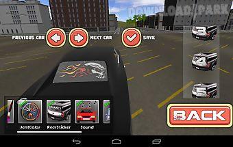 Cars modified simulator