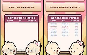 Chinese baby calendar