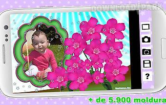 Flowers frames - fotomolduras