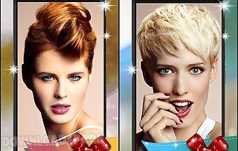 Hairstyle camera hair salon