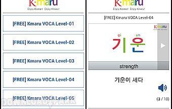 Learn korean - kmaru voca