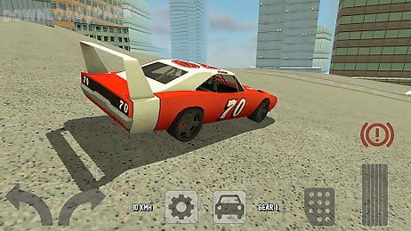 old classic racing car