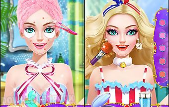 Pool party - makeup & beauty