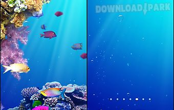Under water live wallpaper
