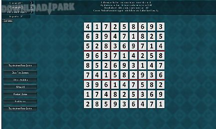 free sudoku-blue fire games