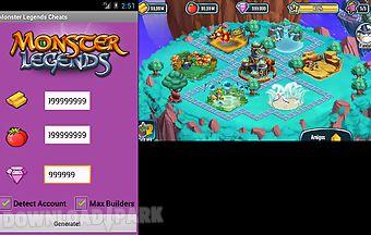 Monster legends cheats unofficia..