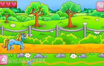 My pony racing