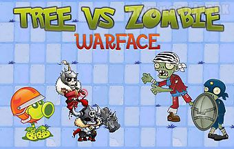 Tree vs zombie: warface