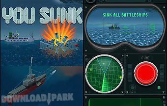 You sunk: submarine game