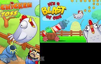 Chicken toss - cannon launcher