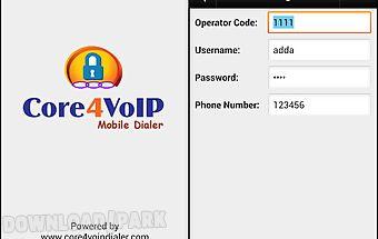 Core4voip mobile dialer