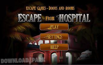 Escape game hospital escape