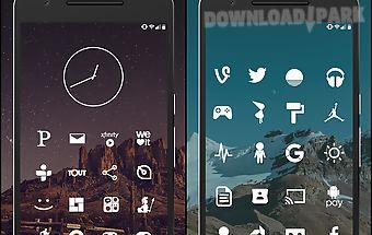 Flight lite - minimalist icons