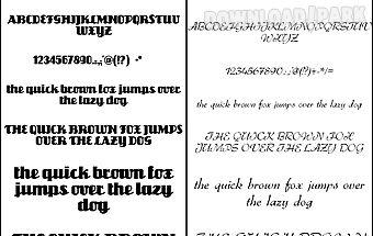 Fonts for flipfont 50 #1
