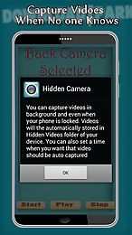 hidden camera video recorder