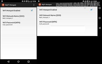 Myfi wifi hotspot - no root