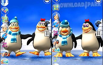 Talking pengu & penga penguin
