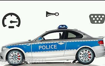 Toddler kids car toy police