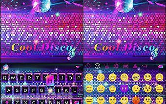 Cool disco 💿 keyboard theme