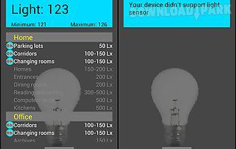 Easy light meter