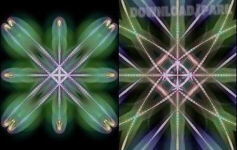 Glow kaleidoscope livewallpape