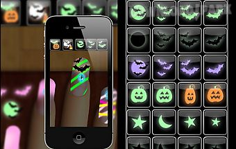 Halloween nails manicure games