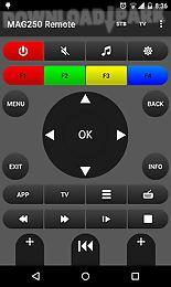 mag250 remote
