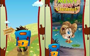 Messy kids - clean up game