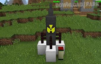 Missile craft mod minecraft pe
