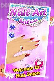 nail art salon – girls game