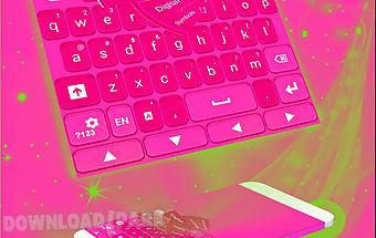 Pink keyboard personalization