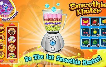 Smoothie maker crazy chef game