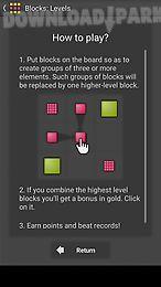 blocks: levels - puzzle game