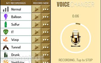 Change your voice-gold changer
