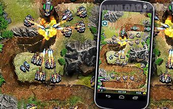 Galaxy defense (tower game)