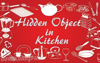 Hidden objects in kitchen game