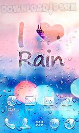 rainy go launcher theme