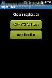 Super hack root Android Aplicación gratis descargar Apk