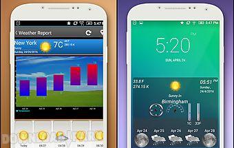 Weather forecast & widgets