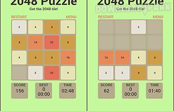 2048 addictive brain game