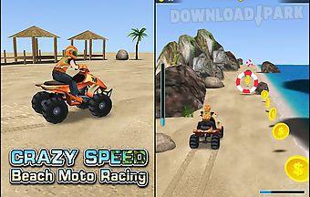 Crazy speed: beach moto racing