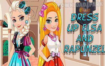 Dress up elsa and rapunzel