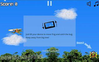 Flying frog game